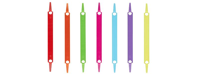 Heftstreifen plastik  Laurel : Fastener strips