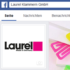 Facebook Laurel Klammern